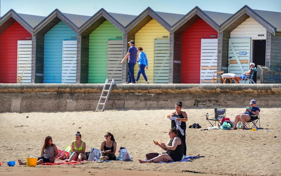 People headed for the beaches as the mercury soared across the UK (Owen Humphreys/PA) (PA Wire)
