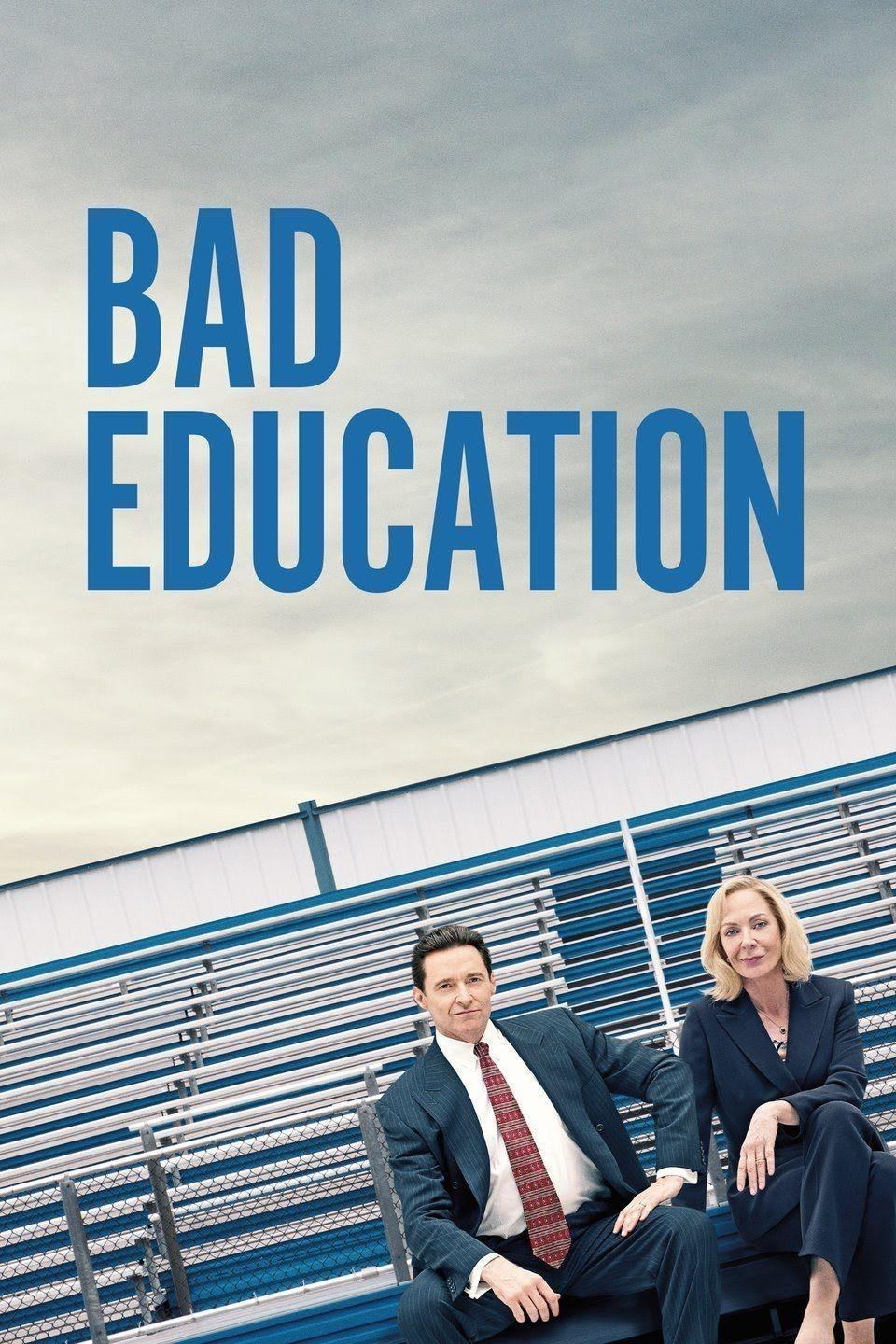 """<p><a class=""""link rapid-noclick-resp"""" href=""""https://www.amazon.com/Bad-Education-Ray-Romano/dp/B087HB16L1/ref=sr_1_1?crid=3GHRKW2B5RL9E&dchild=1&keywords=bad+education&qid=1614184415&s=instant-video&sprefix=bad+education%2Caps%2C164&sr=1-1&tag=syn-yahoo-20&ascsubtag=%5Bartid%7C10063.g.35716832%5Bsrc%7Cyahoo-us"""" rel=""""nofollow noopener"""" target=""""_blank"""" data-ylk=""""slk:Watch Now"""">Watch Now</a></p><p>Hugh Jackman and Allison Janney star in <a href=""""https://www.townandcountrymag.com/leisure/arts-and-culture/a32291684/bad-education-hbo-true-story-frank-tassone-pamela-gluckin/"""" rel=""""nofollow noopener"""" target=""""_blank"""" data-ylk=""""slk:this true story tale"""" class=""""link rapid-noclick-resp"""">this true story tale</a> about the largest public school embezzlement in U.S. history that took place in a tony Long Island suburb. Jackman plays Frank Tassone, a charismatic superintendent who, with his associate Pamela Gluckin (Janney), stole $11.2 million from the school budget to finance a Park Avenue apartment, trips to Vegas, expensive suits and cars, and plastic surgery, among other things.</p>"""