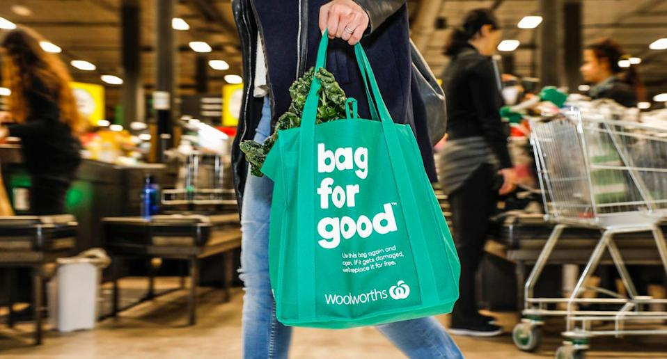 The bag for good costs just 99cents. Source: AAP