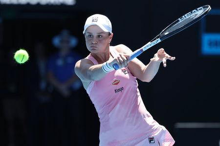 Barty gives Australia edge in US Fed Cup clash