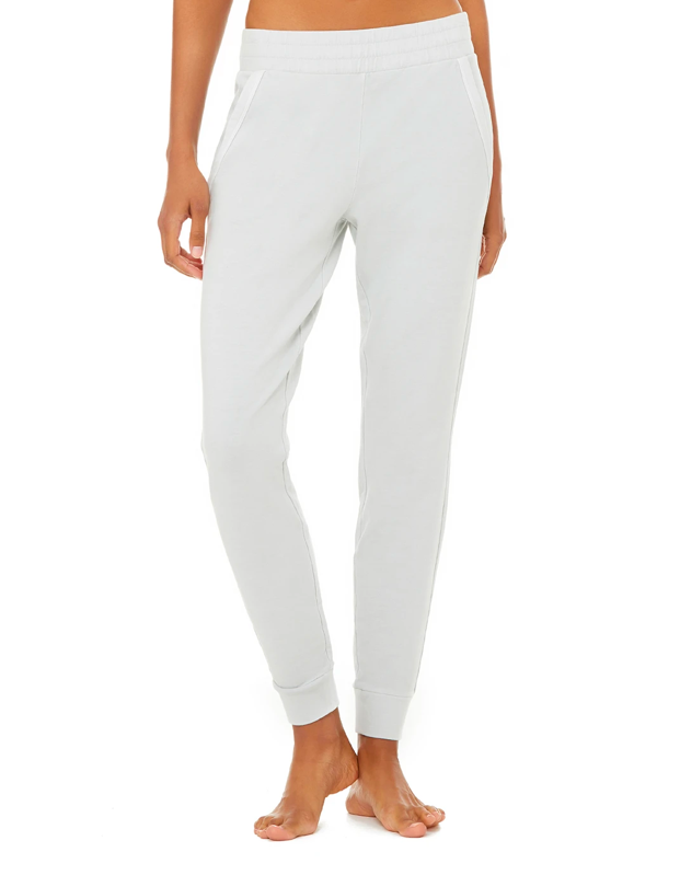 """Pair these sleek vintage-wash sweats with a matching sweatshirt to appear as though you've got your life together on your family Zoom call. $108, Alo Yoga. <a href=""""https://www.aloyoga.com/products/w5810r-washed-unwind-sweatpant"""" rel=""""nofollow noopener"""" target=""""_blank"""" data-ylk=""""slk:Get it now!"""" class=""""link rapid-noclick-resp"""">Get it now!</a>"""