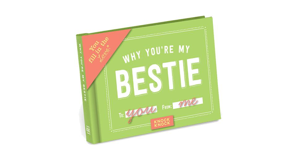 Knock Knock Why You're My Bestie Fill in the Love Book