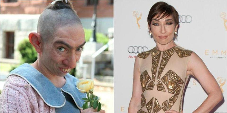 <p>If you saw actress Naomi Grossman walking down the street, there's no way you would guess that she plays <em>American Horror Story: Freak Show</em> character Pepper.</p>