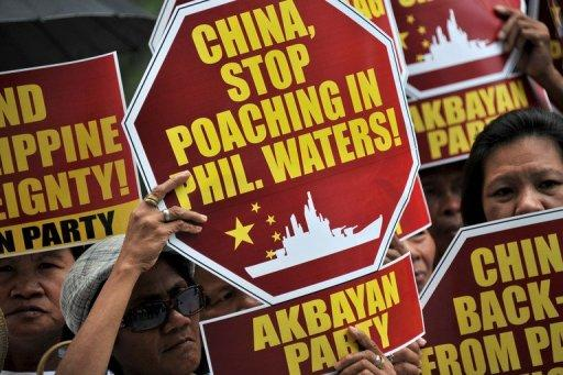 China has been locked in a dispute over the Scarborough Shoal in the South China Sea