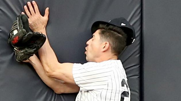 Yankees shut down concussed outfielder Jacoby Ellsbury