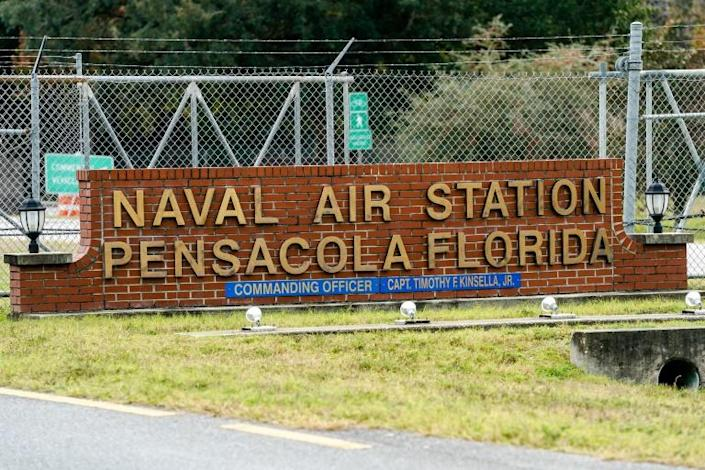 AQAP claimed responsibility for a December 6 shooting at the US Naval Air Station Pensacola in Florida, where a Saudi officer killed three American sailors (AFP Photo/Josh Brasted)