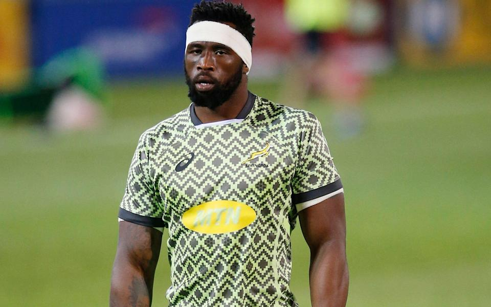 Siya Kolisi will lead the Springboks in the first Test after recovering from Covid-19 - AFP