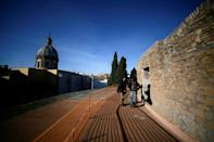 After the fall of the Roman empire, the mausoleum lost its relevance as a burial site and like other Roman monuments was put to a variety of uses by the generations that followed