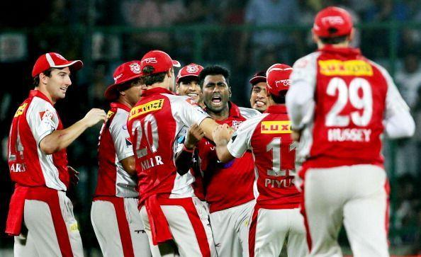 Kings XI Punjab have lost three matches by 10 wickets