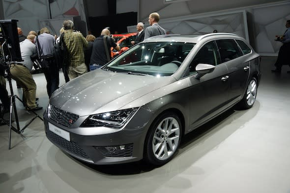 All new Seat Leon ST unveiled
