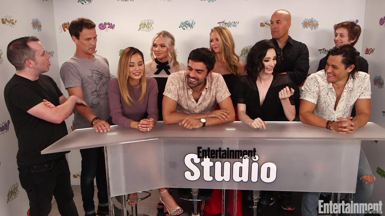 Watch our interview for more coverage from Comic-Con.