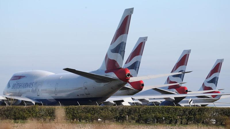 BA 747s at Bournemouth Airport