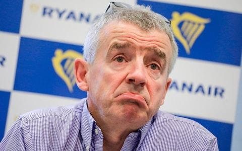 O'Leary has warned of a 'meltdown' this summer - Credit: Eric Lalmand