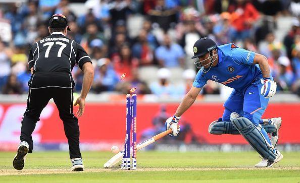End of the road for Dhoni?