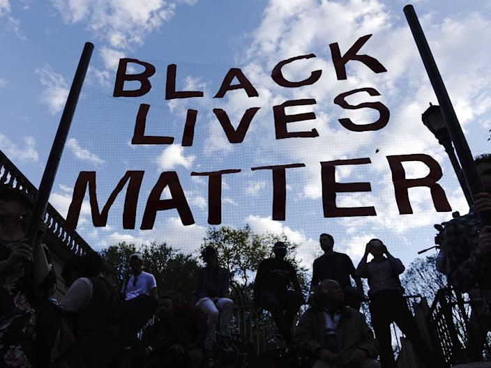 <p>Two young boys were removed from their classroom after they chose to wear a t-shirt stating 'Black Lives Matter' after they were inspired by events on the news</p> (Getty Images)