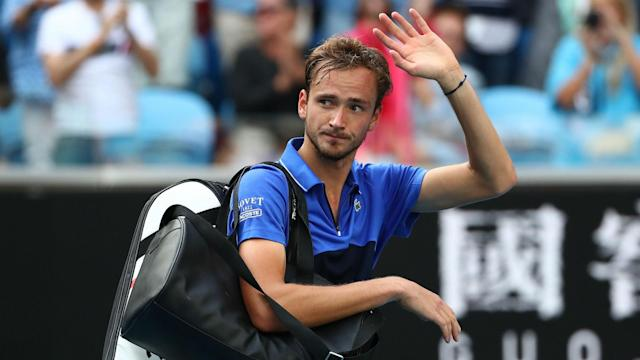 Though he lost in the last 16 of the Australian Open, Daniil Medvedev expressed satisfaction with his start to the 2020 season.