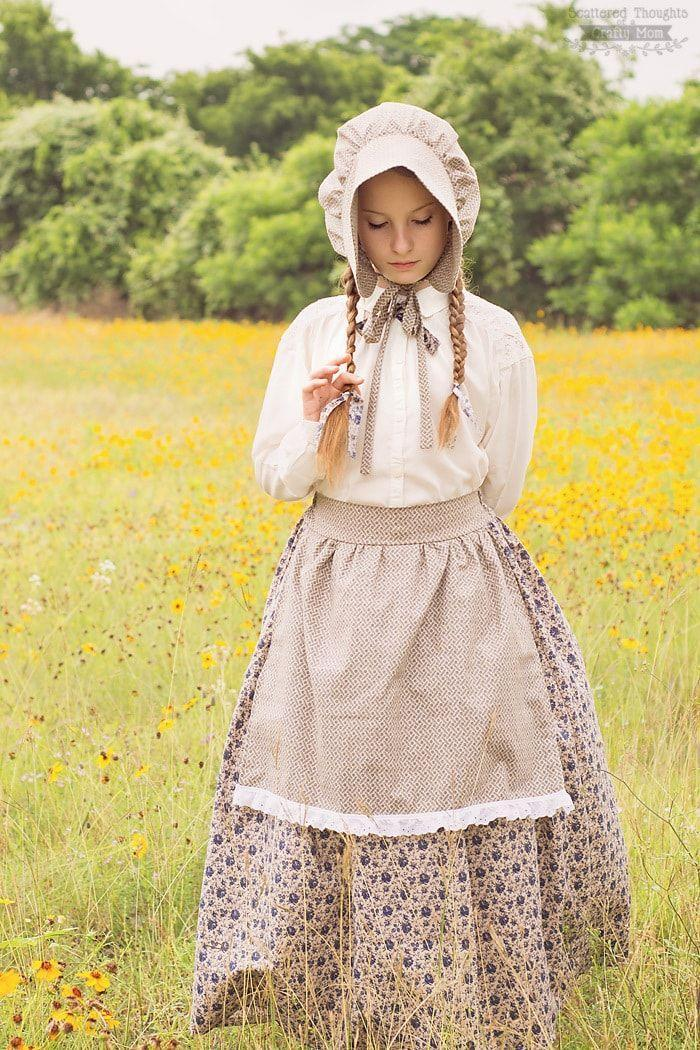 """<p>Hoping to put forth your best Laura Ingalls Wilder impression? This DIY costume will help you do just that. </p><p><strong>Get the tutorial at <a href=""""https://www.scatteredthoughtsofacraftymom.com/little-house-on-the-prairie-costume-bonnet-tutorial/"""" rel=""""nofollow noopener"""" target=""""_blank"""" data-ylk=""""slk:Scattered Thoughts of a Crafty Mom"""" class=""""link rapid-noclick-resp"""">Scattered Thoughts of a Crafty Mom</a>.</strong></p><p><a class=""""link rapid-noclick-resp"""" href=""""https://go.redirectingat.com?id=74968X1596630&url=https%3A%2F%2Fwww.walmart.com%2Fip%2FWomen-s-Short-Sleeve-White-Office-Shirt-Button-Down-Work-Ruched-Front-Tops%2F260144506&sref=https%3A%2F%2Fwww.thepioneerwoman.com%2Fholidays-celebrations%2Fg33925966%2Fwestern-halloween-costumes%2F"""" rel=""""nofollow noopener"""" target=""""_blank"""" data-ylk=""""slk:SHOP WHITE BUTTON DOWN SHIRTS"""">SHOP WHITE BUTTON DOWN SHIRTS</a></p>"""