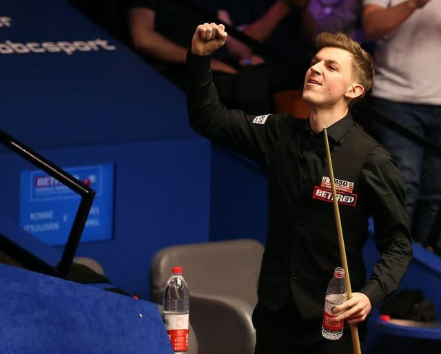 Ronnie O'Sullivan was stunned by amateur James Cahill in 2019 (Nigel French/PA)