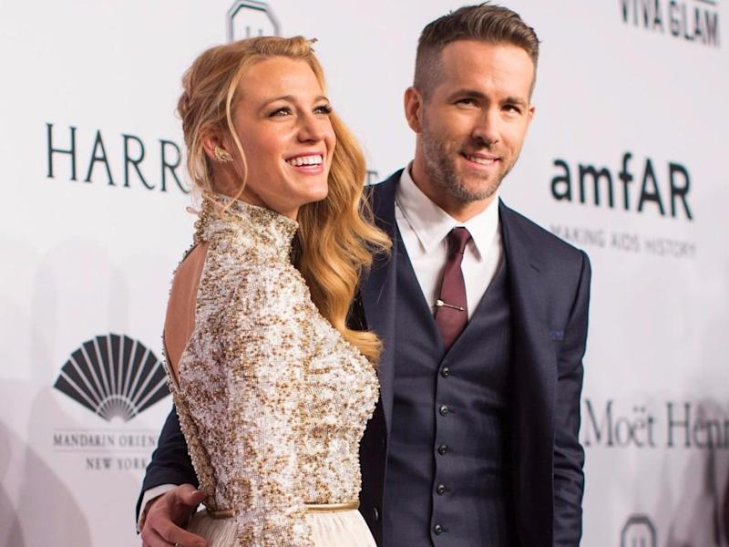 Blake and Ryan have been married for five years, during which time he regularly makes fun of her. Source: Getty
