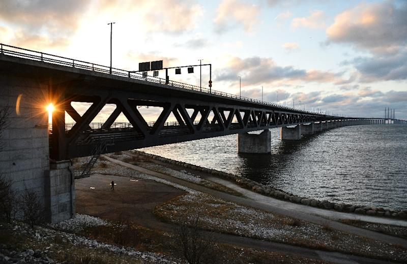 The Oresund Bridge links Sweden and Denmark (AFP Photo/Johan Nilsson)