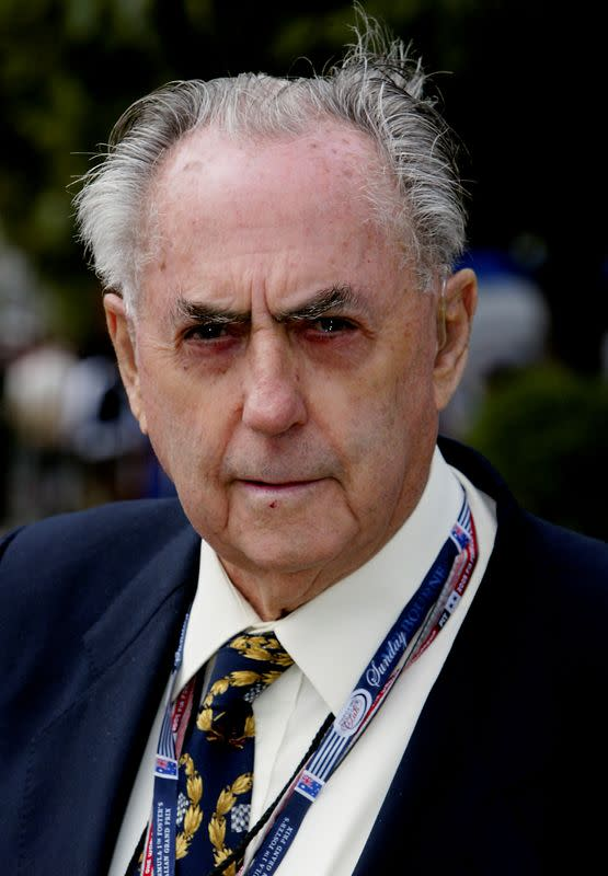 FILE PHOTO: Died on May 19, 2014: Jack Brabham, Australian racing driver/team owner