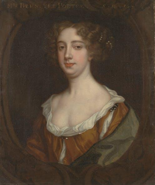 """<span class=""""caption"""">Britain's first professional writer: Aphra Behn.</span> <span class=""""attribution""""><span class=""""source"""">Yale Center for British Art, Yale University, New Haven, Connecticut</span></span>"""
