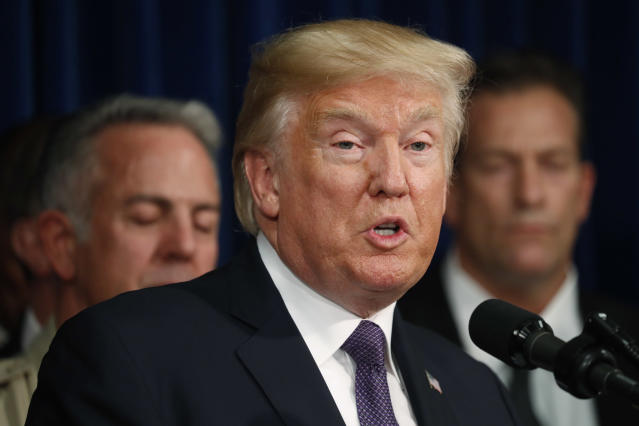 Opinion: Trump Bans White Men From Traveling, Notes Some 'Are Good People'