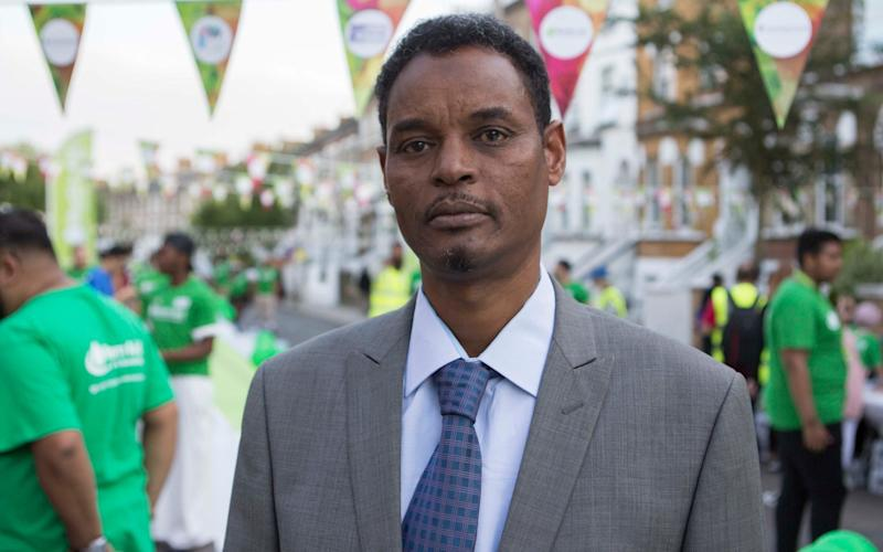 Yassin Hersi, who comforted Makram Ali, who was killed in the Finsbury Park Mosque terror attack, says the community is pulling together - PA Wire