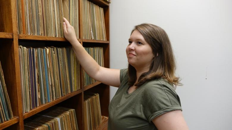 Carleton inherits late prof's vast jazz trove