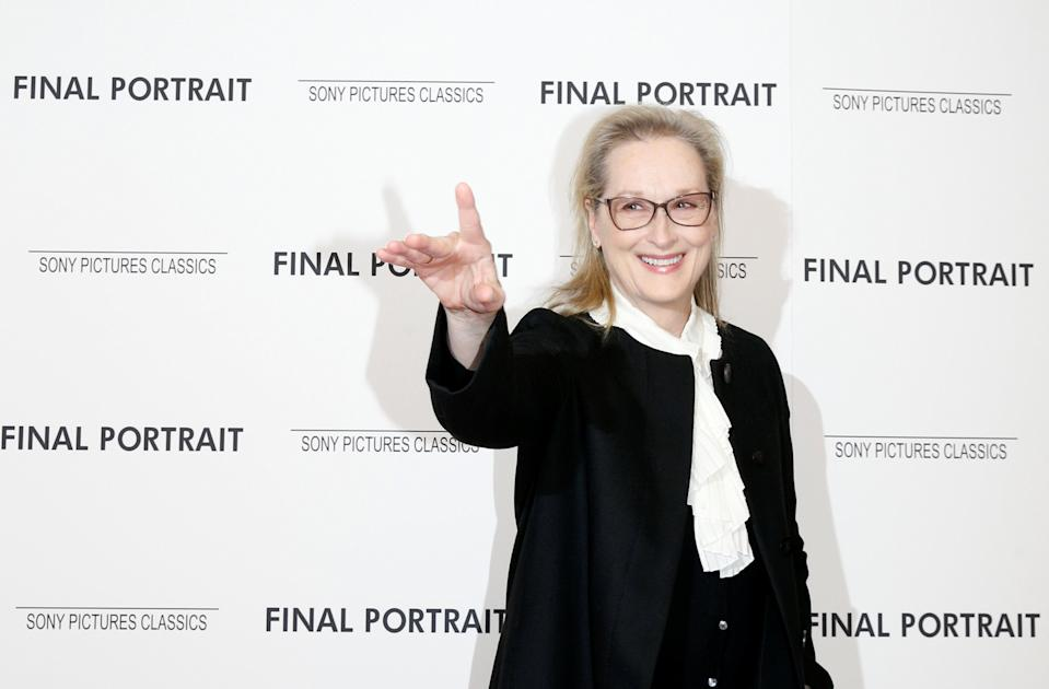 Streep for Leia? (Credit: Reuters)
