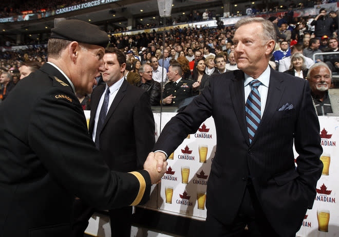 General Walter J. Natynczyk Shakes Getty Images