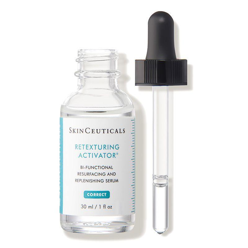 """<p><strong>SkinCeuticals</strong></p><p>dermstore.com</p><p><strong>$82.00</strong></p><p><a href=""""https://go.redirectingat.com?id=74968X1596630&url=https%3A%2F%2Fwww.dermstore.com%2Fproduct_Retexturing%2BActivator%2B_20840.htm&sref=https%3A%2F%2Fwww.marieclaire.com%2Fbeauty%2Fg35218066%2Fbest-products-for-acne-scars%2F"""" rel=""""nofollow noopener"""" target=""""_blank"""" data-ylk=""""slk:SHOP IT"""" class=""""link rapid-noclick-resp"""">SHOP IT</a></p><p>Texture can make scars more noticeable, so smoothing them out can make a big difference—even underneath your makeup. SkinCeutical's lightweight serum contains kombucha and hyaluronic acid to keep skin bouncy while it works its magic. </p>"""