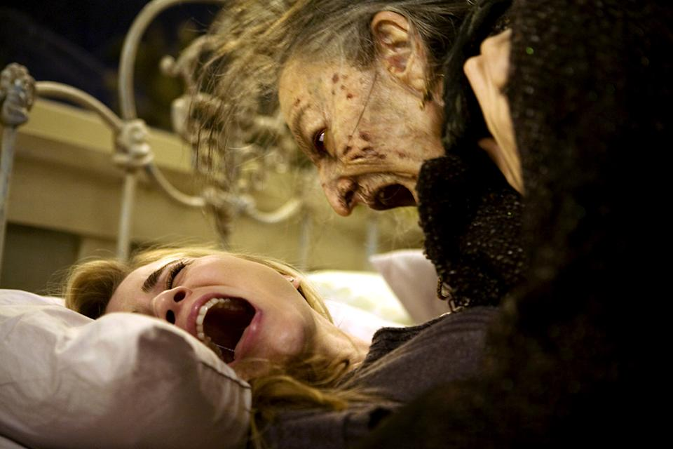 Alison Lohman and Lorna Raver in Sam Raimi's 'Drag Me to Hell' (Photo: Universal/Courtesy Everett Collection)