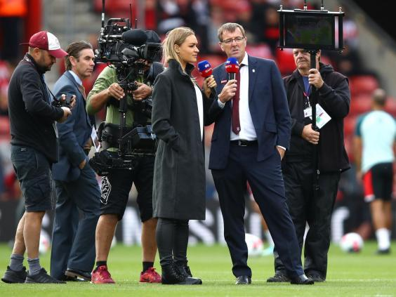 Matt Le Tissier (right) was axed by Sky Sports last week (Getty)