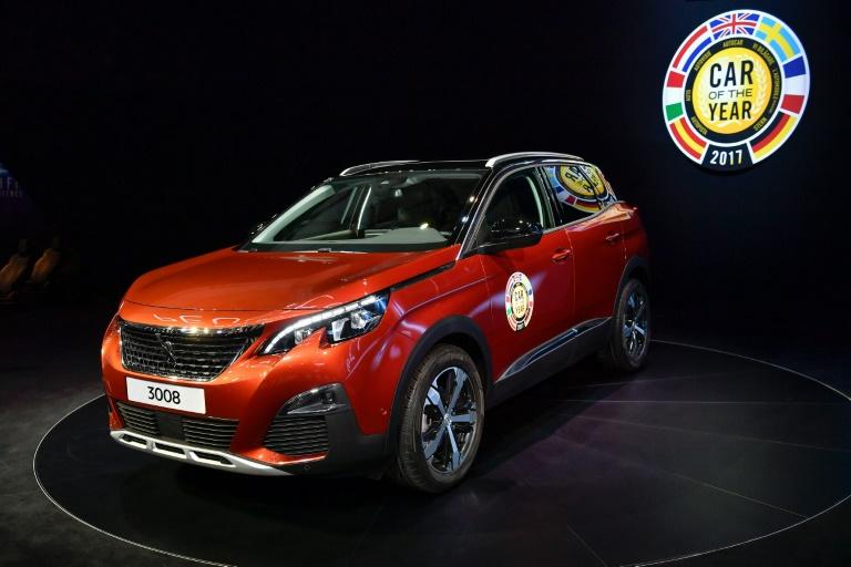The Peugeot 3008 was elected European Car of the Year 2017 at the Geneva International Motor Show in March