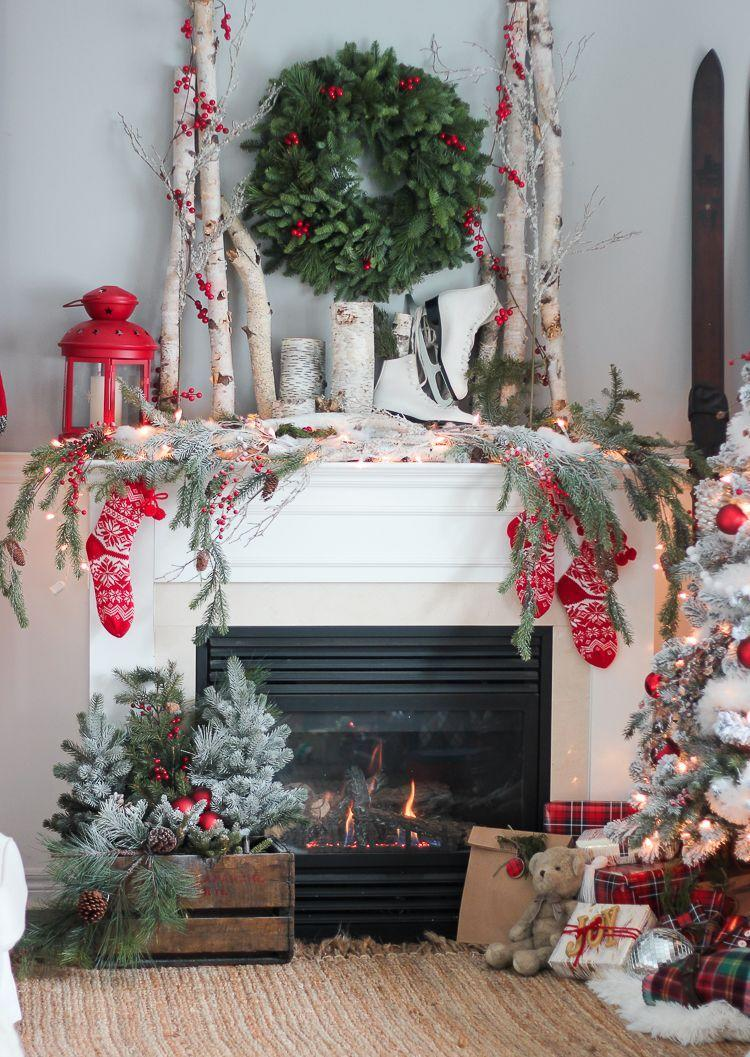 "<p>There's something so magical about a birch forest all decked in snow. Bring that ambiance inside by decorating your mantel with birch logs and candles, plus other natural elements, like evergreen and winter berries. </p><p><em>See more at <a href=""https://www.craftberrybush.com/2015/12/christmas-house-tour-part-2.html"" rel=""nofollow noopener"" target=""_blank"" data-ylk=""slk:Craftberry Bush"" class=""link rapid-noclick-resp"">Craftberry Bush</a>.</em></p><p><a class=""link rapid-noclick-resp"" href=""https://www.amazon.com/Fireplace-Unfinished-Crafts-Decorative-Burning/dp/B07PLPH3LT?tag=syn-yahoo-20&ascsubtag=%5Bartid%7C10072.g.34484299%5Bsrc%7Cyahoo-us"" rel=""nofollow noopener"" target=""_blank"" data-ylk=""slk:SHOP BIRCH LOGS"">SHOP BIRCH LOGS</a></p>"