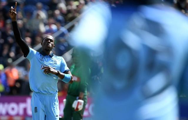 England's Jofra Archer has impressed at the World Cup (AFP Photo/Paul ELLIS)
