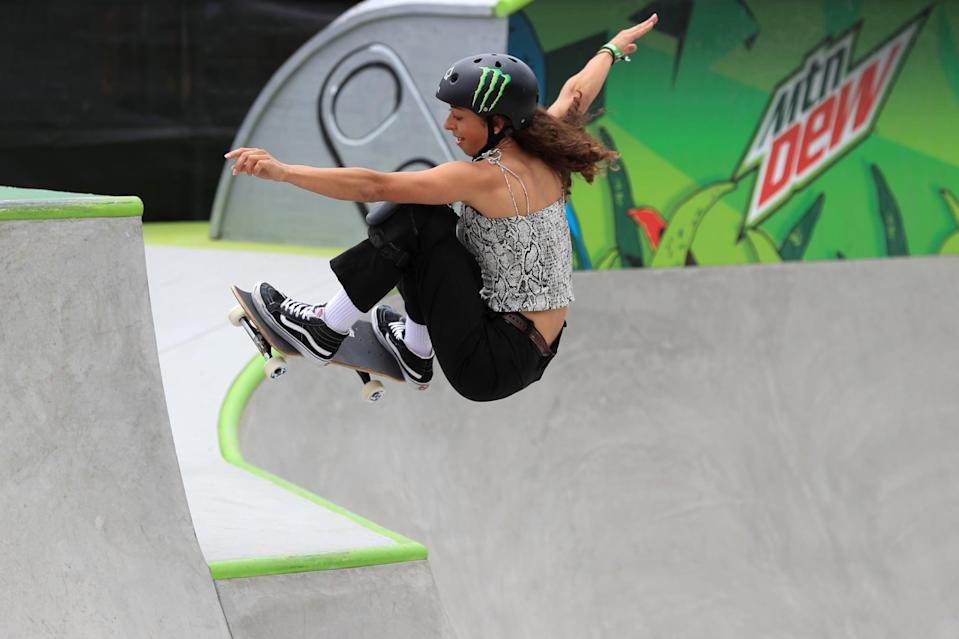 <p><em>Above: Armanto competes during the 2019 Dew Tour in Long Beach, CA</em></p> <p><strong>POPSUGAR: Do you have any sort of routine for staying fit and healthy?</strong></p> <p><strong>Armanto:</strong> Depending on what time of year it is, if I'm not going to contests, I try to make sure I'm eating fresh food. I don't go and get fast food and things like that. I also work out to supplement skating because skateboarding only works out a certain part of your body. Skateboarding is mostly squats. I try to go work out all the other muscles that skateboarding doesn't touch so that when I'm skating and if I take a fall, my other muscles are tender and I'm kind of ready for it. I basically just like going to the gym and working out the other muscles. It makes it so that I can be stronger and have less injuries.</p>