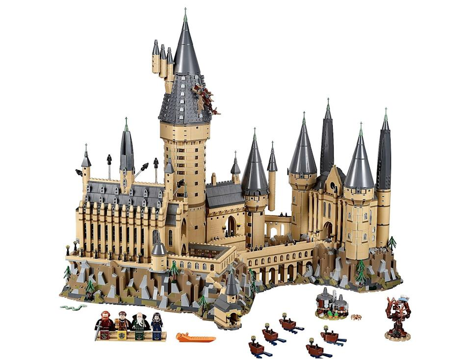 "<p>This <em>giant</em> <a rel=""nofollow noopener"" href=""https://www.popsugar.com/buy/Hogwarts%20Castle%20Lego%20Set-355342?p_name=Hogwarts%20Castle%20Lego%20Set&retailer=shop.lego.com&price=400&evar1=moms%3Aus&evar9=45535895&evar98=https%3A%2F%2Fwww.popsugar.com%2Fmoms%2Fphoto-gallery%2F45535895%2Fimage%2F45536084%2FHogwarts-Castle-Lego-Set&list1=holiday%2Cgift%20guide%2Charry%20potter%2Cparenting%20gift%20guide%2Cgifts%20for%20kids%2Ckid%20shopping%2Cgifts%20for%20toddlers&prop13=mobile&pdata=1"" target=""_blank"" data-ylk=""slk:Hogwarts Castle Lego Set"" class=""link rapid-noclick-resp"">Hogwarts Castle Lego Set</a> ($400) is the best gift for an entire family to bond over.</p>"