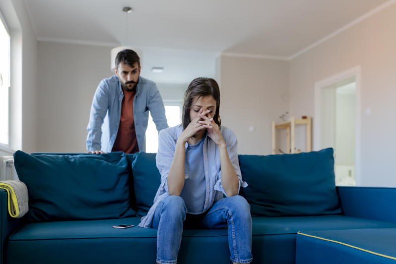 Divorce often comes with emotional as well as financial trauma. (Source: Getty)