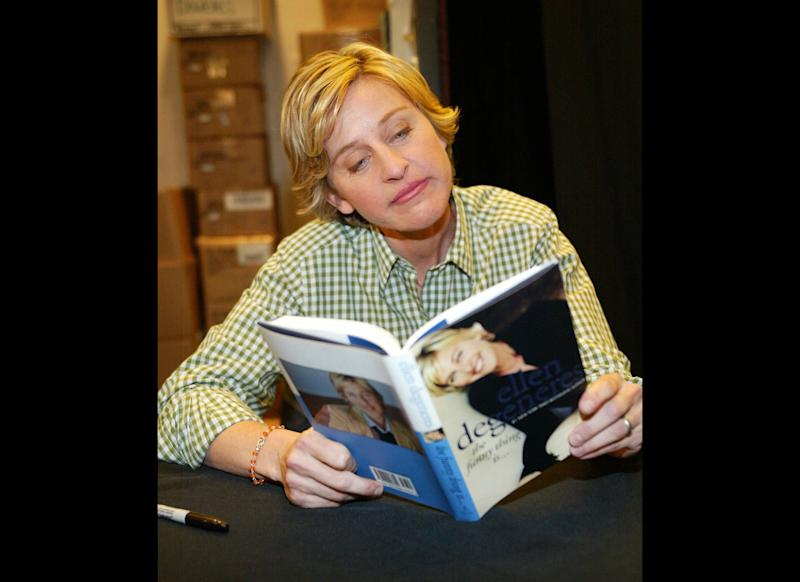 Ellen shows everyone that reading can be ― and is ― cool. You tell 'em, girl!