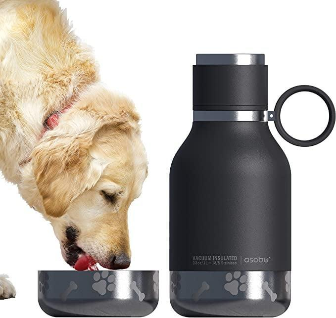 <p>The <span>Asobu Dog </span> ($24) is a must-have for the both dogs and humans. It's a 33-ounce water bottle that has a bowl attached for your furry one to stay hydrated with you.</p>
