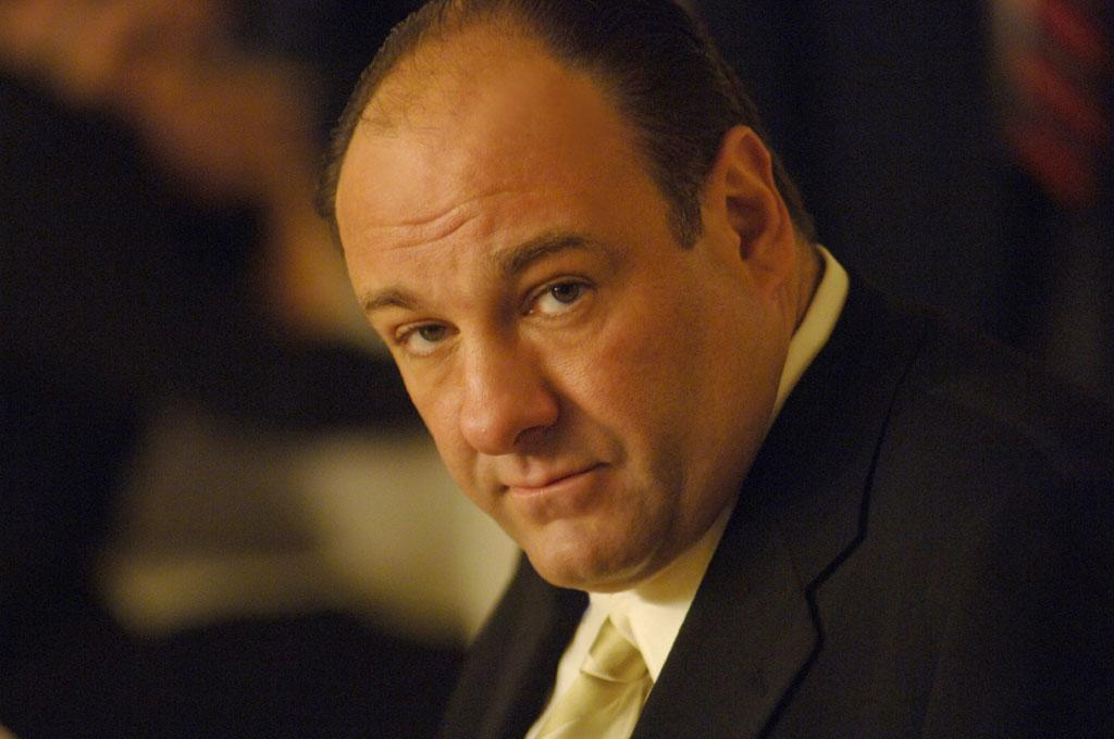 "James Gandolfini in HBO's ""The Sopranos."""
