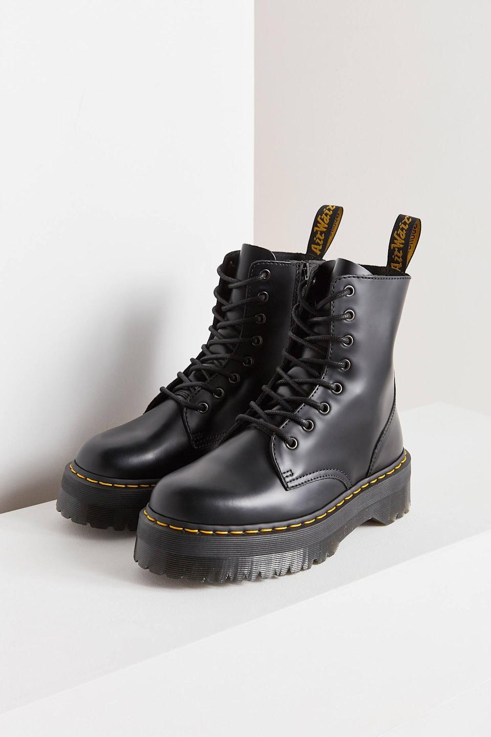 <p>These <span>Dr. Martens Jadon Platform 8-Eye Boots</span> ($180) are timeless staples that have gotten a 2021 refresh. The platform is cool, and gives us the boost we're looking for in a boot.</p>