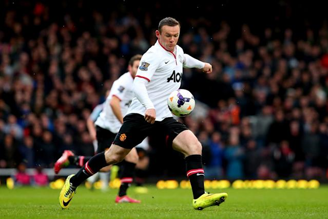 <p>With the 2013-14 season drawing to a close, Wayne Rooney saved his best til late on. With echoes of David Beckham's stunning halfway line goal, Rooney picked up the ball just seven minutes into the match, marginally inside the Hammers' half and smashed it over Adrian from nearly 60 yards out. </p>