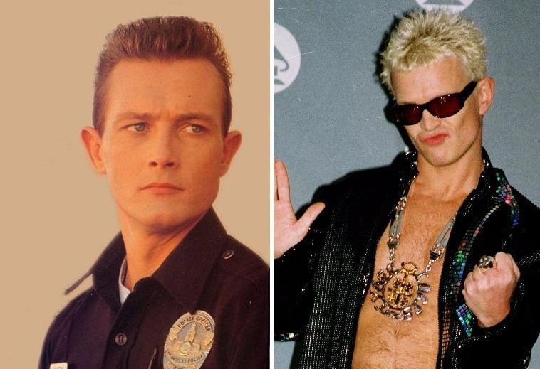 Billy Idol was supposed to play the T-1000 in Terminator 2