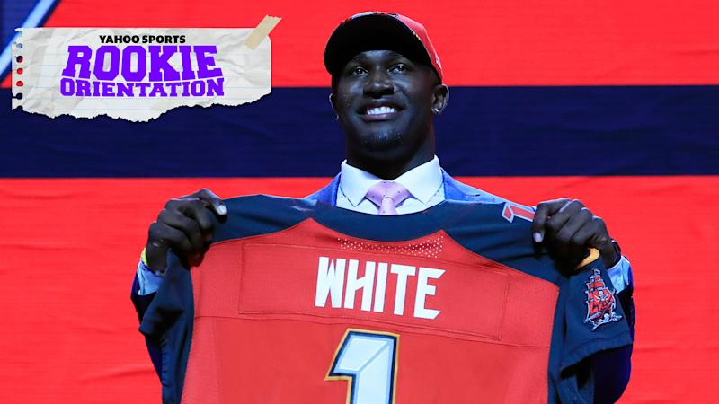 Matt Harmon illustrates how rookie linebacker Devin White could return the Buccaneers' defense to its former glory on the latest Rookie Orientation. (Photo by Andy Lyons/Getty Images)