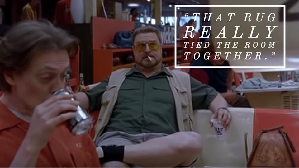 The Big Lebowski movie quote