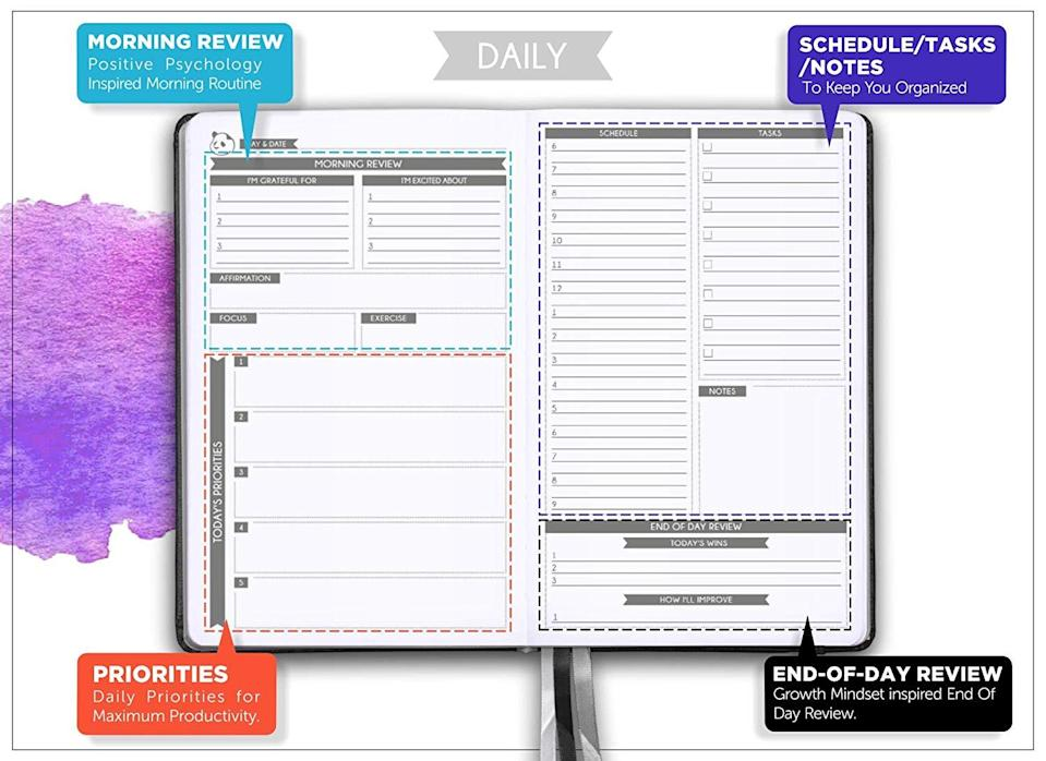 "<h3><a href=""https://amzn.to/2QjzVO2"" rel=""nofollow noopener"" target=""_blank"" data-ylk=""slk:Daily Panda Planner"" class=""link rapid-noclick-resp"">Daily Panda Planner</a></h3>"