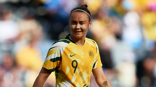 The 25-year-old will get her first taste of football in Europe with the Gunners, leaving Sydney FC to head to England